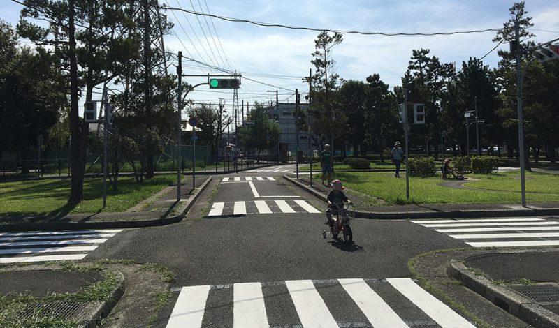 交通公園内の写真