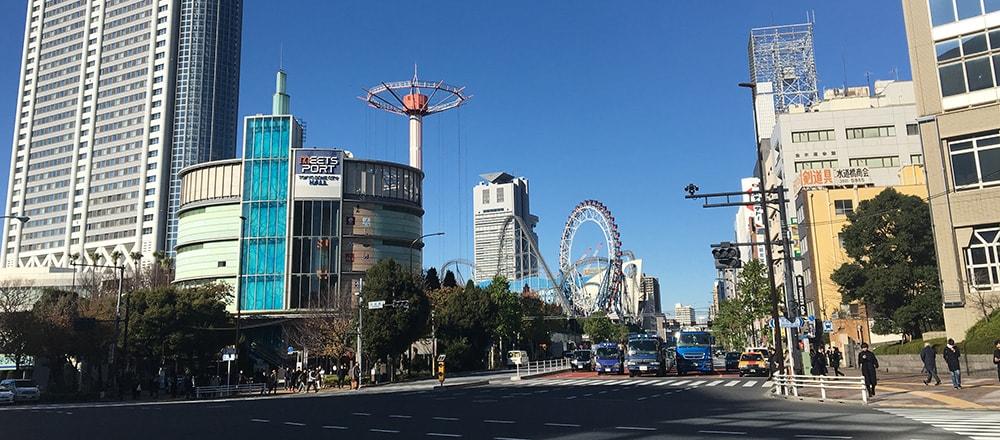 文京シビックセンター遠景