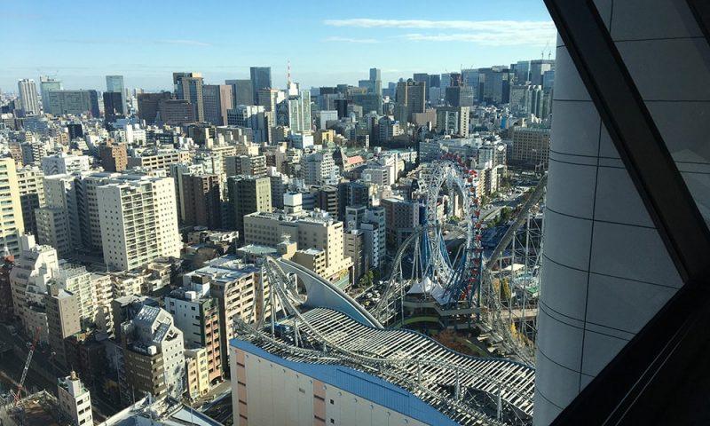 東京ドームシティの観覧車