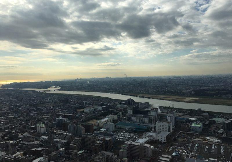 東京湾・浦安方面