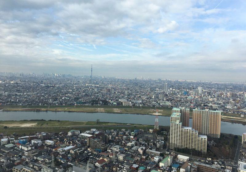 東京都心方面