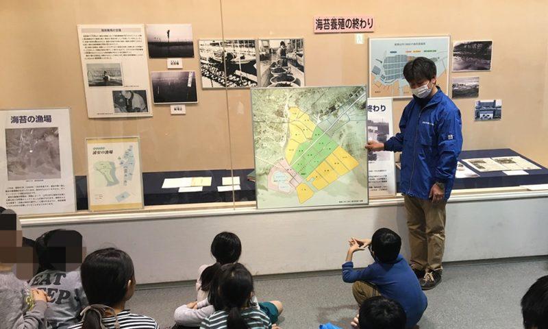 浦安の海苔作りの歴史の勉強