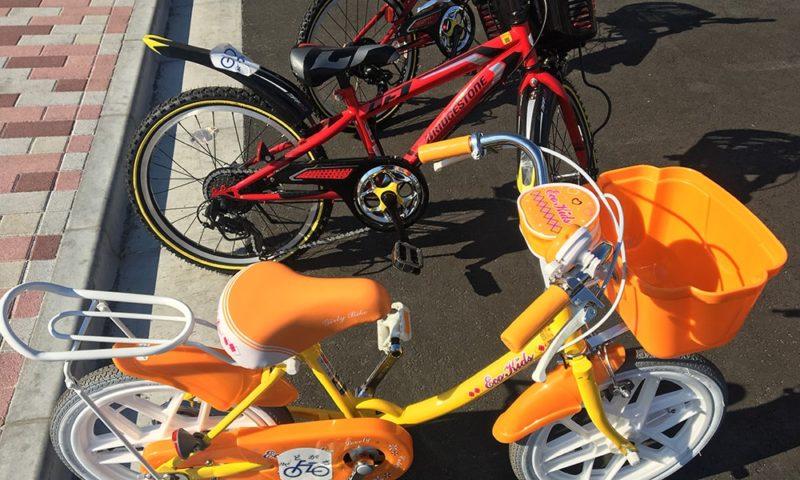 新品な自転車