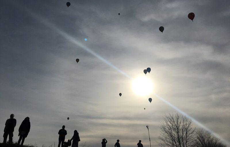 佐久バルーンフェスティバルの気球