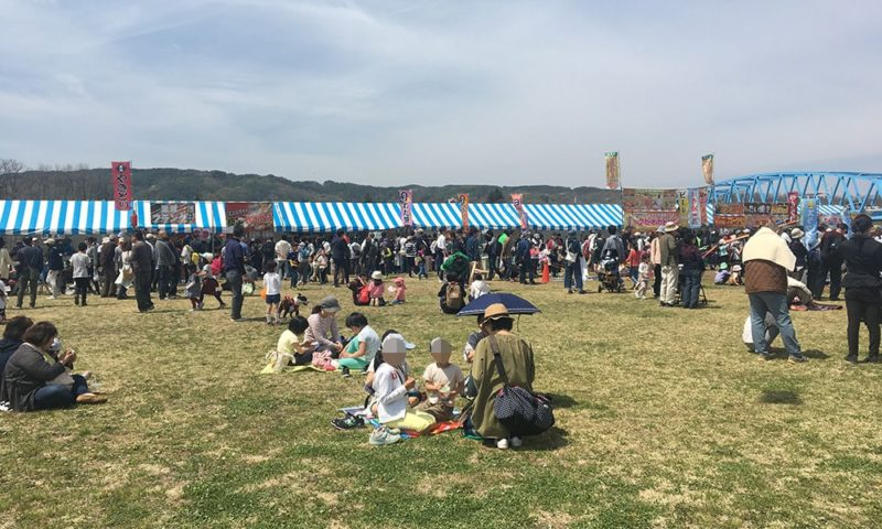 イベント広場の様子