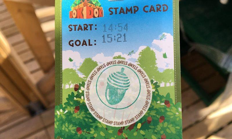 DOKIDOKIのスタンプカード