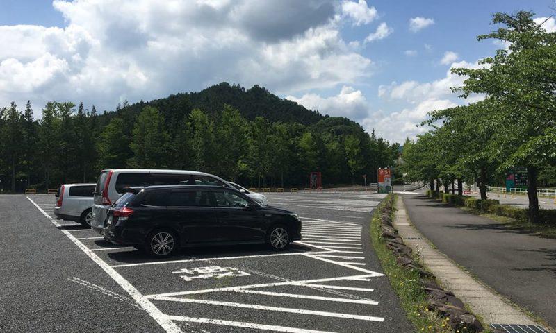 南ゲートから入って、モビパークに一番近いS1駐車場