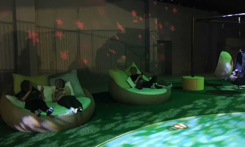 SUMIKAの休憩スペース