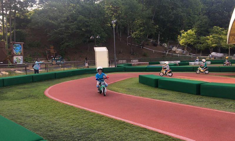 モーターサイクルトレーニングの練習風景