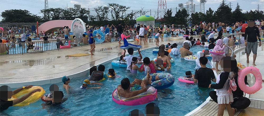 船橋市運動公園プール
