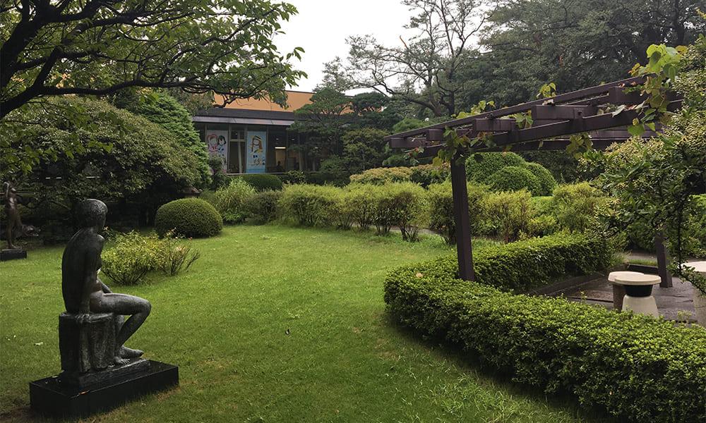 芳澤ガーデンギャラリーの庭