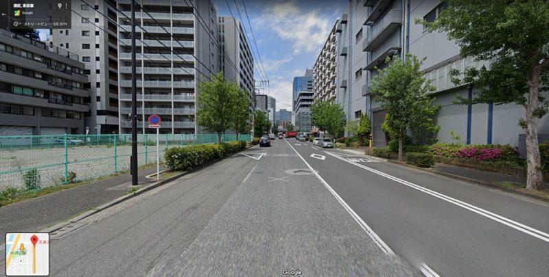 Google ストリートビューの画像