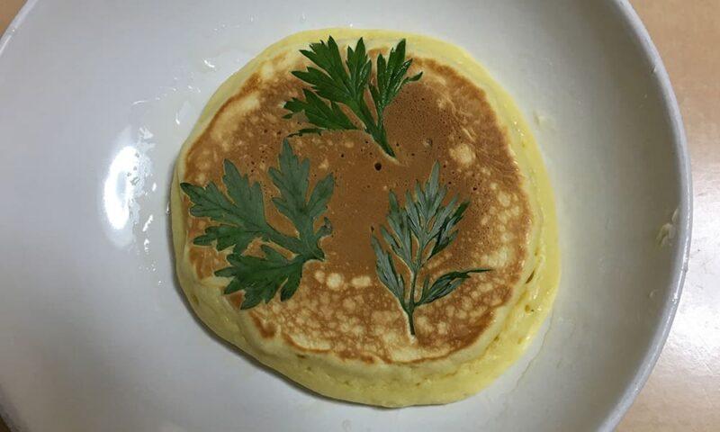 ヨモギパンケーキ
