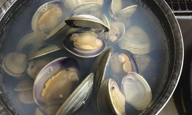 ホンビノス貝の出汁