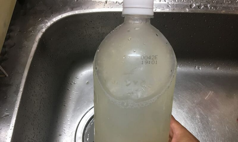 ホンビノス出汁を解凍