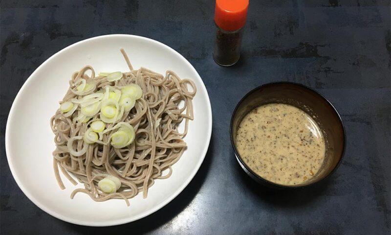 クルミ蕎麦