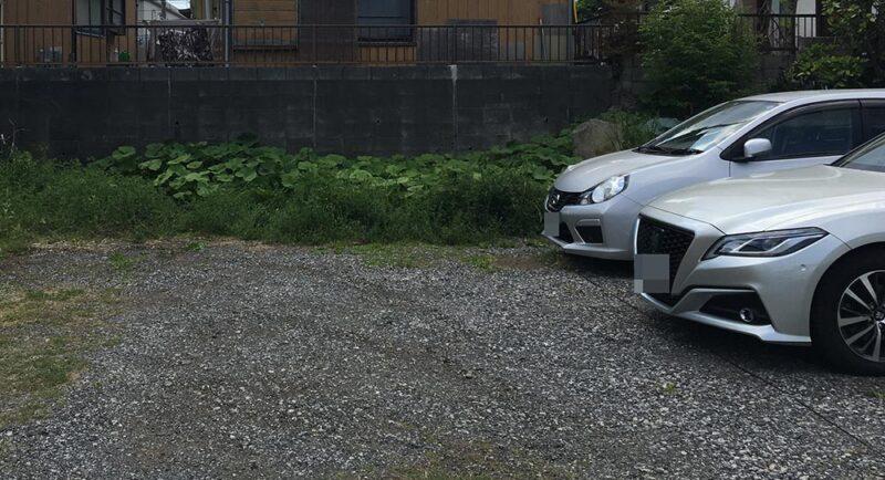 実家近くの駐車場