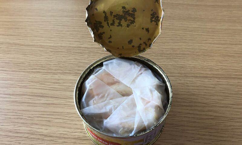 高島屋のカニ缶